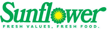 Sunflower Fresh Values Fresh Food Logo